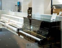 Yamaha Pianoworld luxury piano store in Germany royalty free stock photography