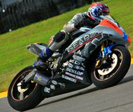Yamaha pro bike Stock Images