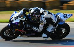 Yamaha Pro bike racing Royalty Free Stock Image