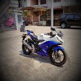 Yamaha R15 Arkivbild