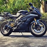 2014 Yamaha r6 Royalty-vrije Stock Foto