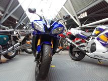 Yamaha r6. Beautiful greatest bike Stock Photo