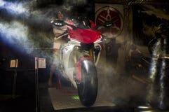 Yamaha R1 2015 launch event Royalty Free Stock Photos