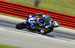 Yamaha R1 super bike Stock Images