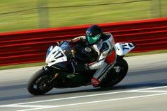 Yamaha racing motorcycle stock photography