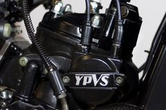 Yamaha rd125 engine ypvs Royalty Free Stock Photos