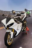 Yamaha, Super Sport, YZF-R1 Stock Photography