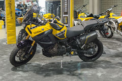 Yamaha Super Tenere stock photography