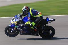 Yamaha Superbike Race stock photography