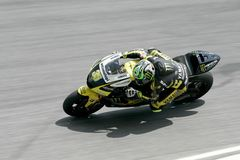 Yamaha Tech 3 Team rider Cal Crutchlow in action Stock Image