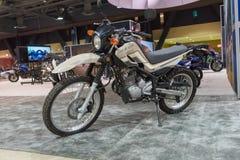 Yamaha XT 250 na pokazie Obraz Royalty Free