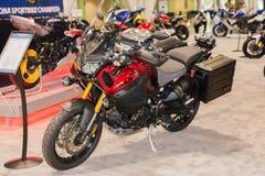 Yamaha XT1200Z Super Tenere motorcycle Royalty Free Stock Images