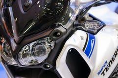 Yamaha XT1200Z Tenere estupendo Imágenes de archivo libres de regalías