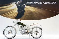 Yamaha Y125 Moegi Royalty Free Stock Images