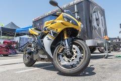 Yamaha YZF-R1 on display during DUB Show Tour Stock Photography