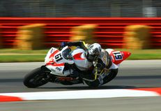 Yamaha YZF-R6 race bike Stock Images