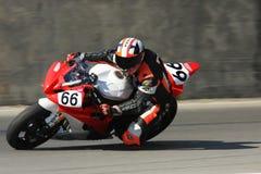Yamaha YZF-R6 racing bike Royalty Free Stock Images