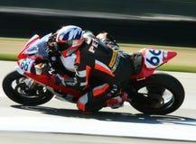 Yamaha YZF-R6 racing motorcycle Royalty Free Stock Image
