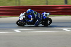 Yamaha YZF-R6 racing Stock Photography