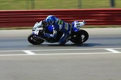 Yamaha YZF-R6 racing stock photography