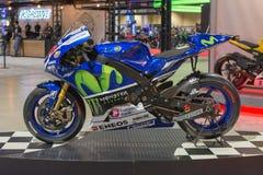 Yamaha YZR-M1 Movistar Team Stock Photography