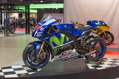 Yamaha YZR-M1 Movistar Team Stock Photos