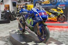 Yamaha YZR-M1 Movistar Team Royalty Free Stock Photography