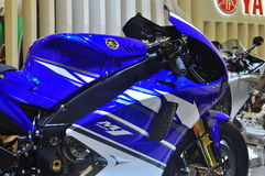 Yamaha YZR-M1 Tokyo Autoausstellung Lizenzfreie Stockfotos