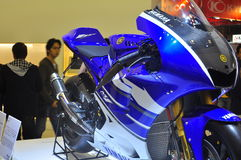 Yamaha YZR-M1 Tokyo Motor Show Royalty Free Stock Photo