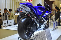 Yamaha YZR-M1 Tokyo Motor Show Royalty Free Stock Photography