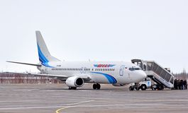 Yamal Airlines Boeing 737 Royalty Free Stock Photography