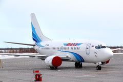 Yamal Airlines Boeing 737 Royalty Free Stock Image