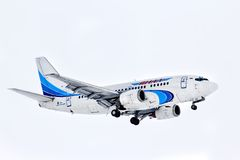 Yamal Airlines Boeing 737 Stock Images