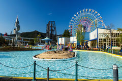 Fuji-Q Highland amusement park, Yamanashi Stock Photo