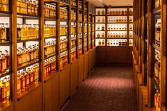 Yamazaki whisky library Stock Image
