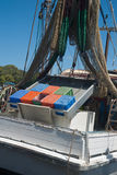 Yamba prawn boat. Stock Photo