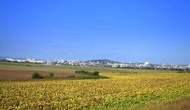 Yambol city vicinity Bulgaria Royalty Free Stock Photography