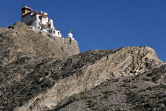 Yambulagang Monastery - Tibet Royalty Free Stock Images