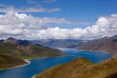 Yamdrok lake Royalty Free Stock Photography