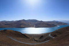 Yamdrok Lake Stock Image