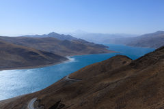 Yamdrok Lake Stock Images