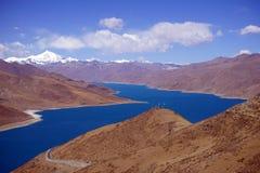 Yamdrok Lake Royalty Free Stock Image