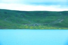 Yamdrok lake  in tibet,china Stock Photography