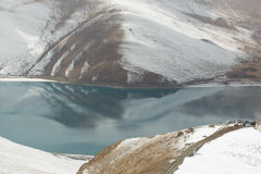 Yamdrok lake in Tibet Royalty Free Stock Images