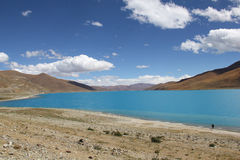 Yamdrok Lake, Tibet Royalty Free Stock Photography