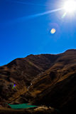 The Yamdrok Lake of Tibet Stock Images