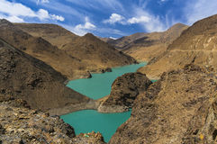 Yamdrok lake. View of Yamdrok lake in Tibet Royalty Free Stock Photography