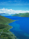 Yamdrok Tso Lake Stock Images