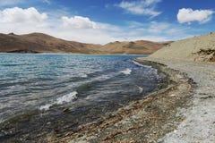 Yamdrok Tso sjö Royaltyfri Bild