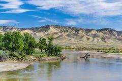Yampa flod Arkivbild